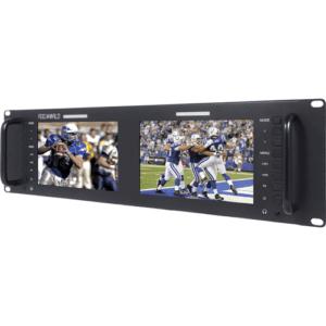 FEELWORLD D71-H DUAL 8 RACK MONITOR (SDI+HDMI) Image